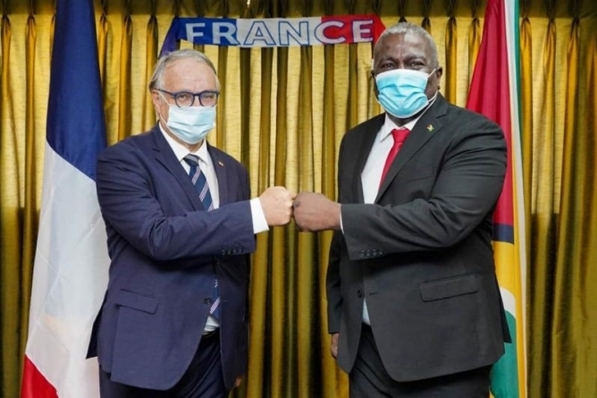 PM reaffirms Guyana's commitment to partnership with France
