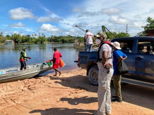 CDC's Director-General visits flood-impacted Region 10 communities