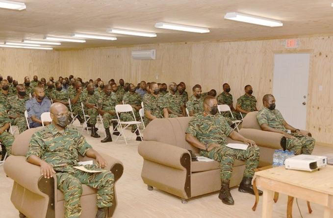 GDF Platoon Sergeants' Course, Commander Course commence