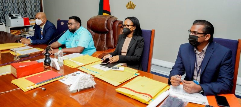 Greater inclusion of Guyanese in Caribbean Airlines' operations discussed