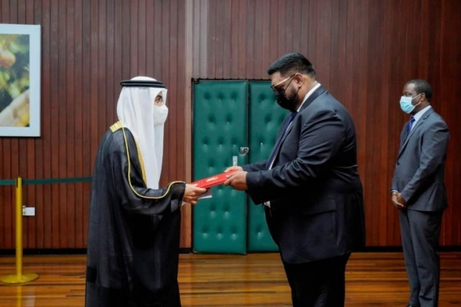 Guyana ready to collaborate with UAE on climate change