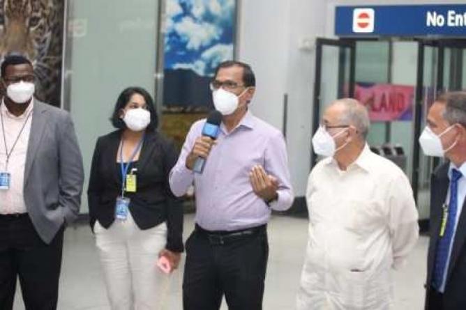 Guyana welcomes 56-member Cuban Medical Brigade