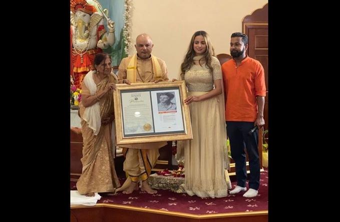 Guyanese honoured by NY State Senate