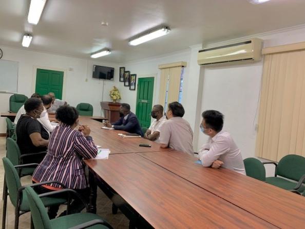 Labour Ministry meets Demerara Timbers on GAWU matter