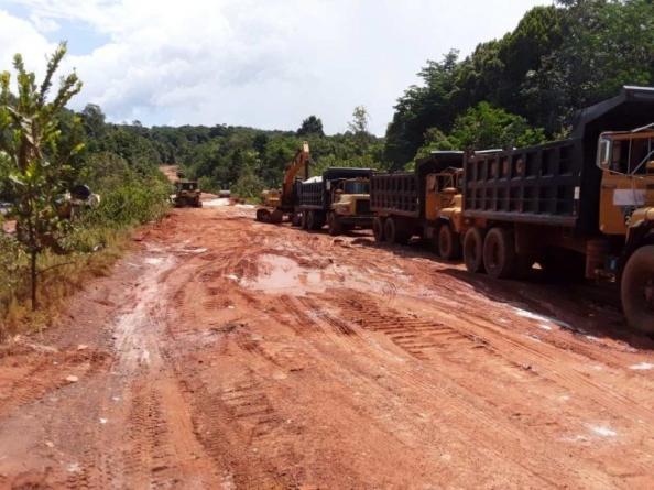 Linden-Mabura corridor opens to light and heavy traffic