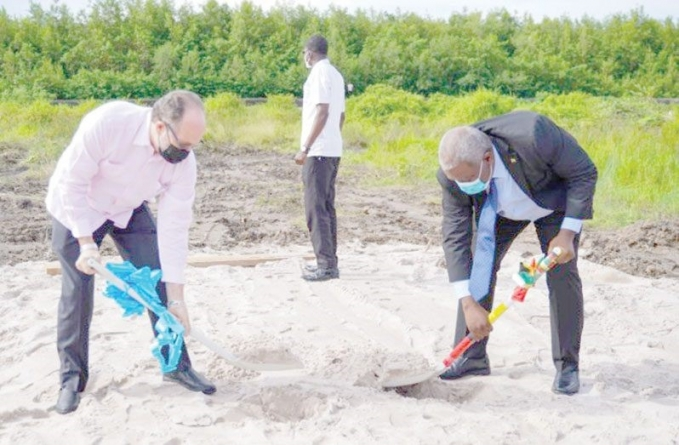 Sod turned for construction of new CARICOM Secretary-General residence