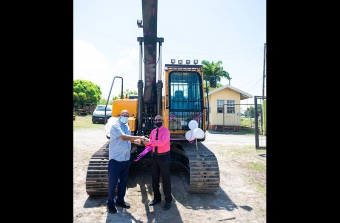 'Agri' sector in Region Three boosted with $28M excavator