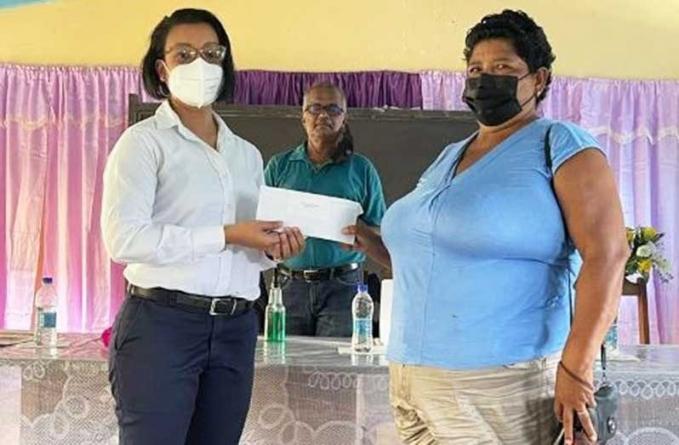 $116M in relief grants distributed to Wakapoa, Akawini farmers