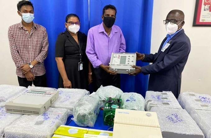 17 ventilators, protective gear donated to GPHC