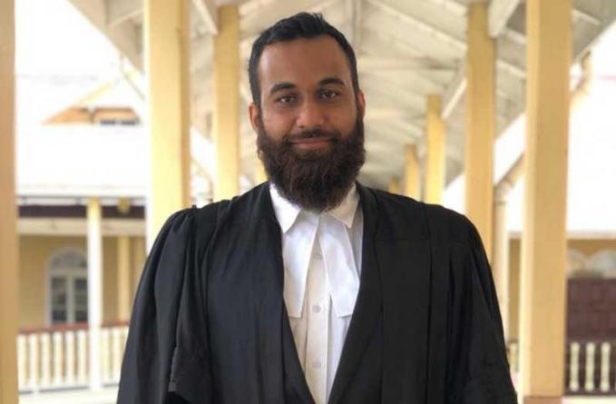 Barbadian lawyer admitted to Guyana Bar