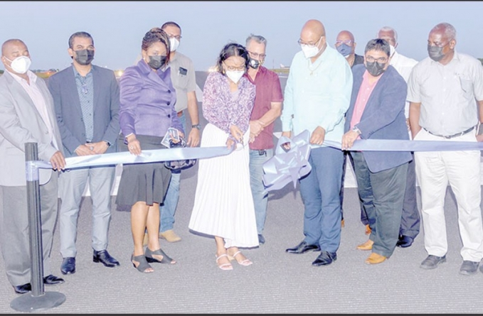 CJIA runway extension, landing system commissioned