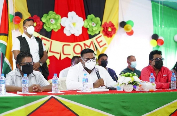 Concerns raised by Reg 2 residents will be addressed— President Ali