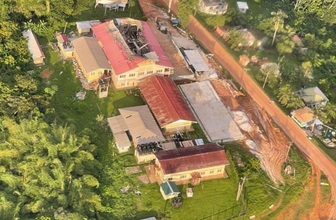 Gov't assessing alternatives for students, staff of fire-ravaged North West Sec. School