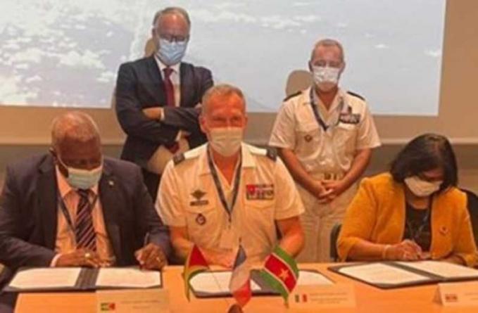 Guyana, Suriname, French Guiana sign security master plan
