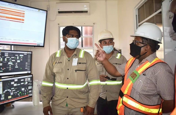 Hiring of Guyanese by Aurora Gold Mines increased by over 400 per cent