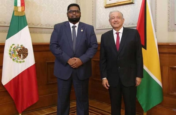 President Ali, Mexico's President discuss areas of co-operation