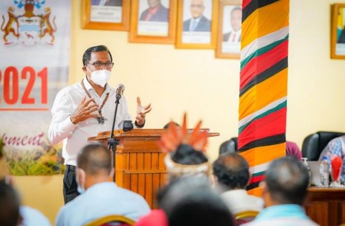Regional Toshaos meeeting: 65 trained nurses, midwives for Region Nine