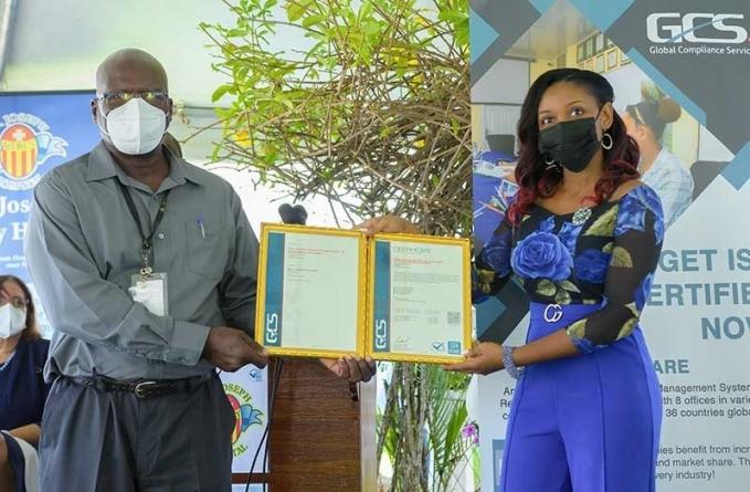 St. Joseph Mercy Hospital receives ISO certification