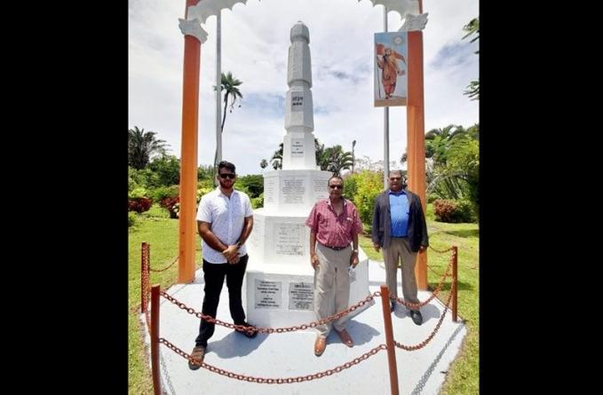 URP restores Arya Samaj Monument in Georgetown