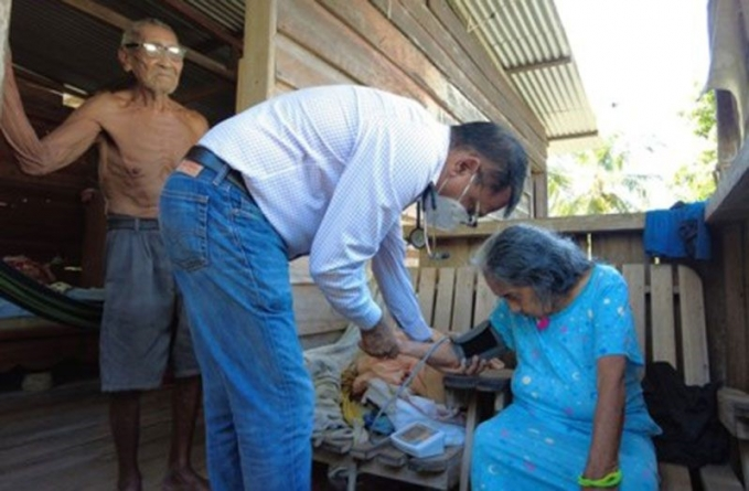 Hundreds in Orealla, Siparuta benefit from medical outreach