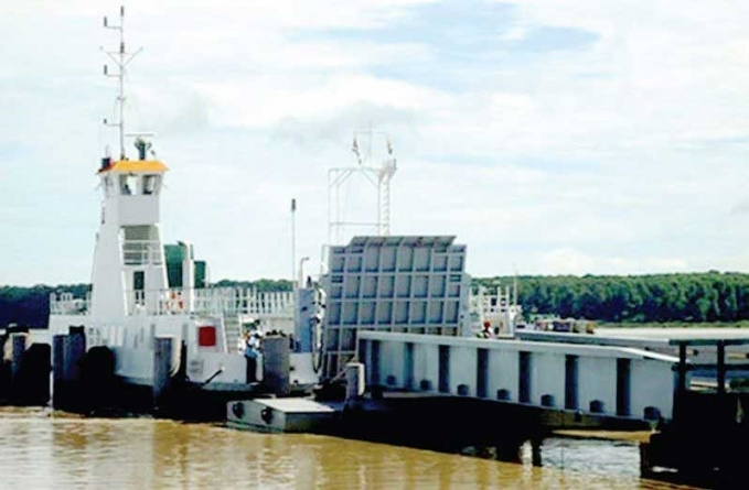 Operations of the Guyana-Suriname ferry increased to three trips weekly