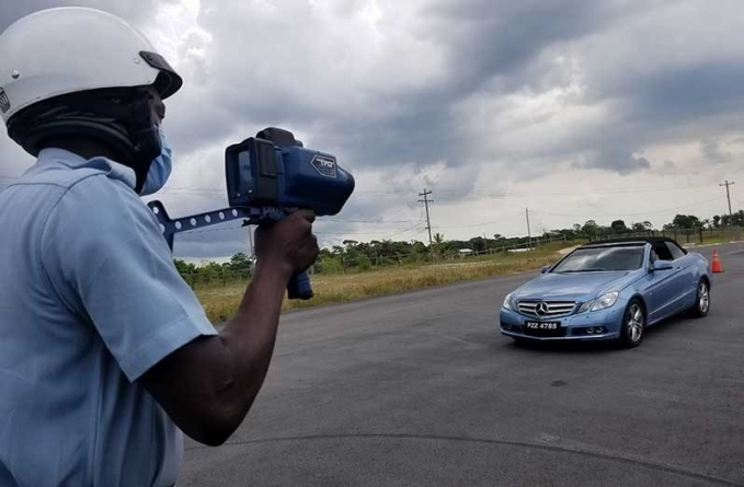 Police speed guns calibrated by GNBS
