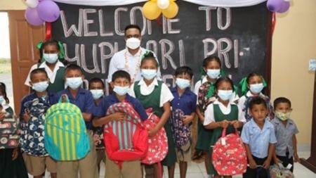 Three new schools commissioned in Region Nine